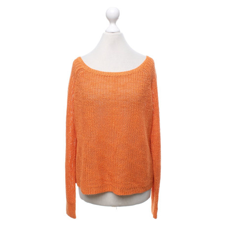 360 Sweater Pullover in Orange Orange