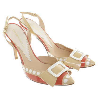 Armani pumps beige