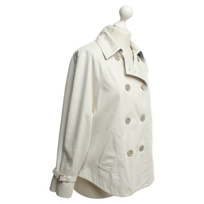 Fabiana Filippi Trenchcoat in Creme