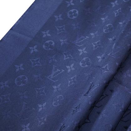 Louis Vuitton tessuto Monogram in blu notte