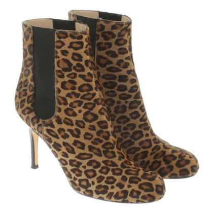 Kate Spade Ankle boots with leopard print