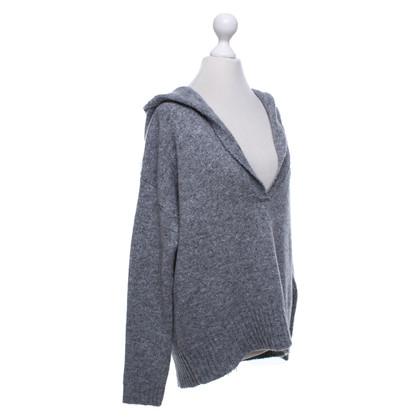 Camouflage Couture Gebreide hoody met applicatie