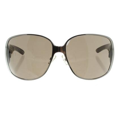 Christian Dior Sonnenbrille mit Metallic-Rahmen
