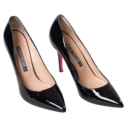 Luciano Padovan Patent leather pumps