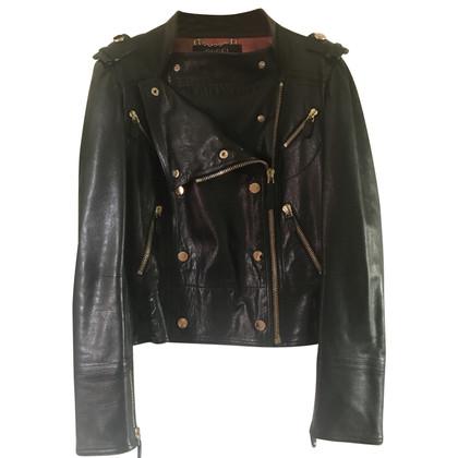 Gucci giacca di pelle