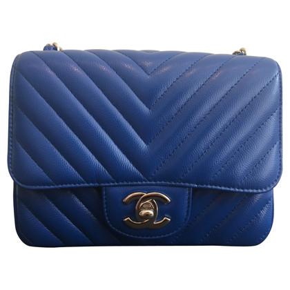 "Chanel ""Chevron Flap Bag Mini Square"""