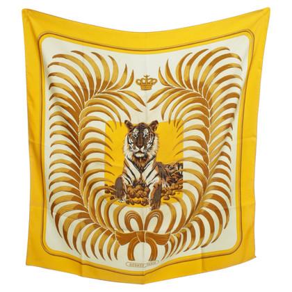 Hermès Zijden sjaal afdrukken