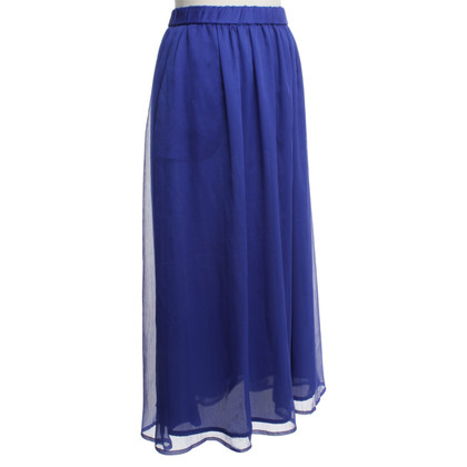 Maison Scotch Jupe longue en Bleu Royal