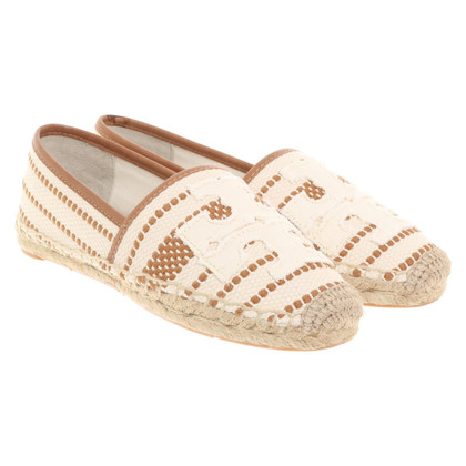 Tory Burch Espadrilles avec application de logo