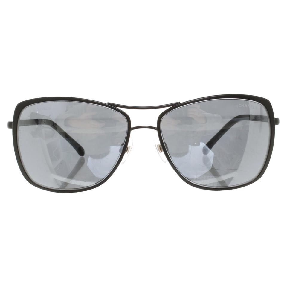 chanel sonnenbrille mit doppelsteg second hand chanel. Black Bedroom Furniture Sets. Home Design Ideas
