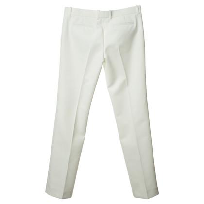 Céline Pantaloni con affari in bianco