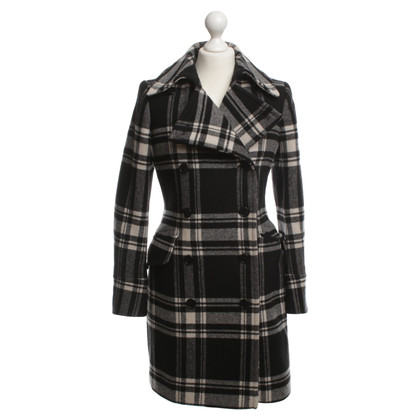 Ralph Lauren Wollen jas met Plaid