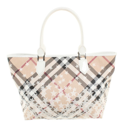 Burberry Maneggiare borsa con plaid