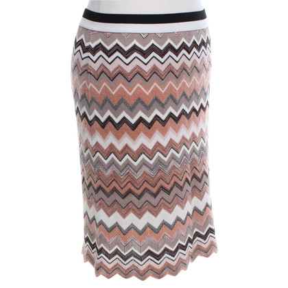 Marc Cain skirt with zig-zag pattern