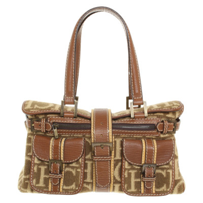 Carolina Herrera Handbag With Logo Weave