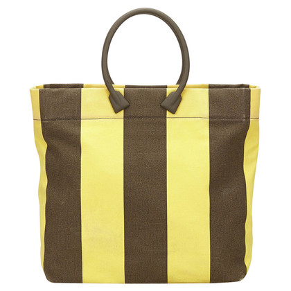 Miu Miu Gestreifte Tote Bag