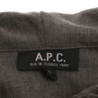 A.P.C. Top in Gray