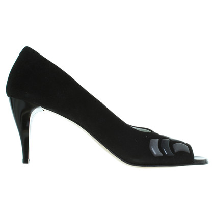 Other Designer Moda di Fausto - black of peep-toes