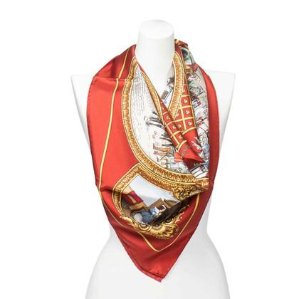 """Hermès Silk scarf """"Les trois Moufqvetaires"""""""