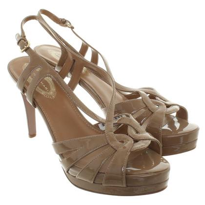 Elie Tahari Sandals of patent leather