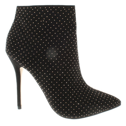 Kurt Geiger Suede ankle boots in black