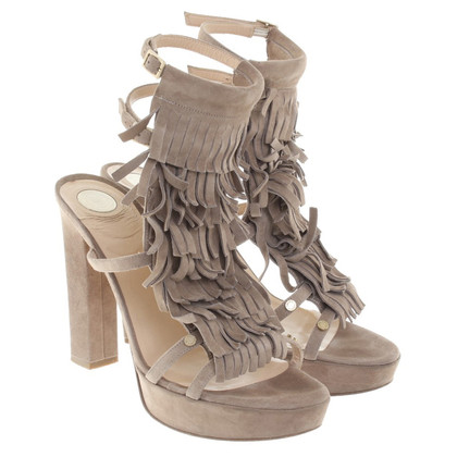 Elisabetta Franchi Sandals with fringes