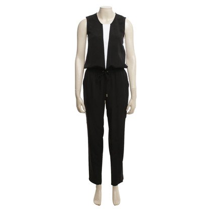 Calvin Klein Jumpsuit in black / white