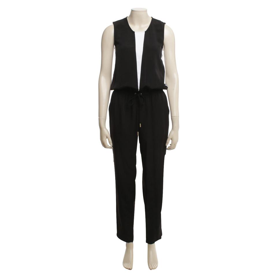 Calvin Klein Jumpsuit in black / white