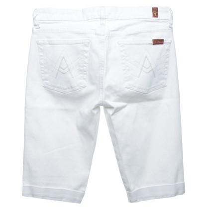 7 For All Mankind Bermuda Bianco