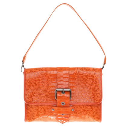 Longchamp Handtasche in Orange