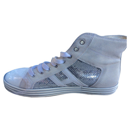 Hogan Sneakers in pelle scamosciata
