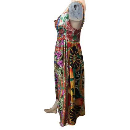Dolce & Gabbana Seidenkleid mit Muster