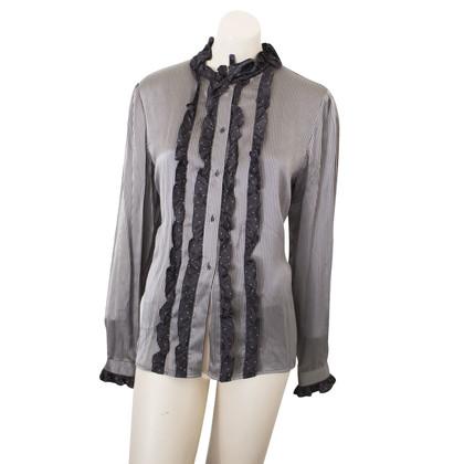 Christian Dior silk blouse