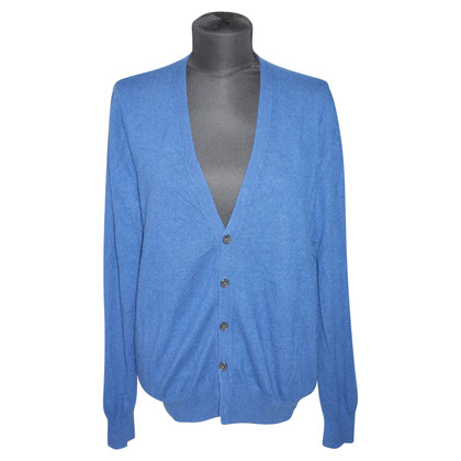 Allude Cashmere Cardigan in teal