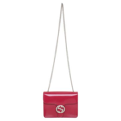 Gucci Shoulder bag in fuchsia