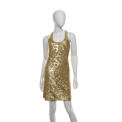 P.A.R.O.S.H. Gold sequin dress