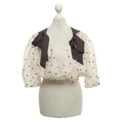 Zimmermann Blouse with pattern