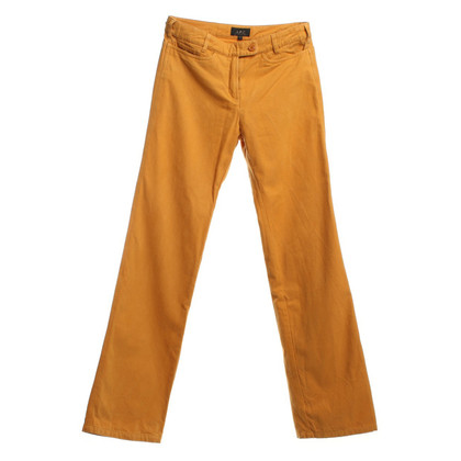 A.P.C. trousers in Ocker
