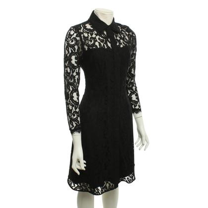 Nanette Lepore Lace dress in black