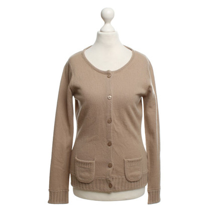 FTC Strickjacke in Beige
