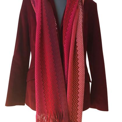 Missoni écharpe en laine tricot Missoni