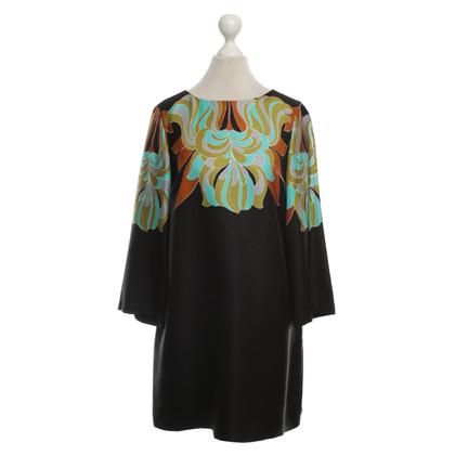 Tibi Robe de soie noire