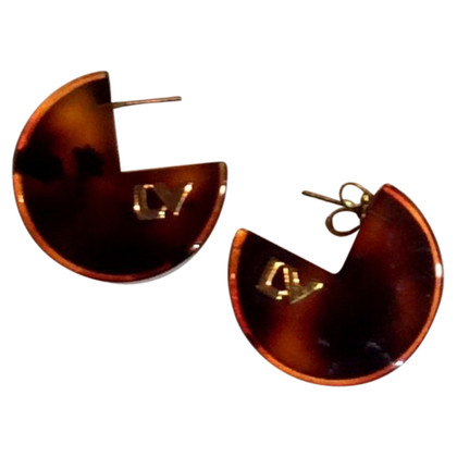 Louis Vuitton Louis Vuitton LV logo earrings