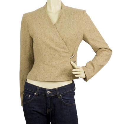 Chanel Beige Cashmere short Jacket
