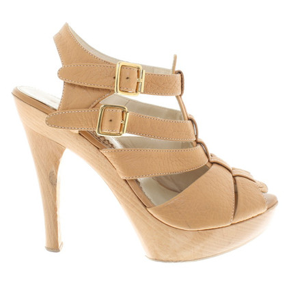 Borbonese Sandals in beige