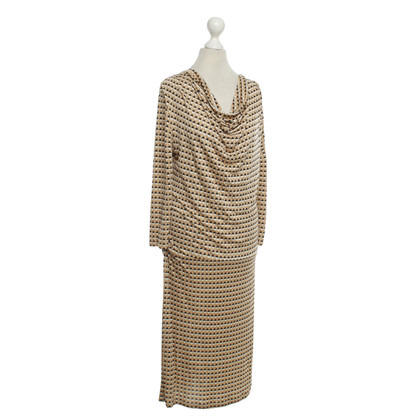 René Lezard Dress with pattern