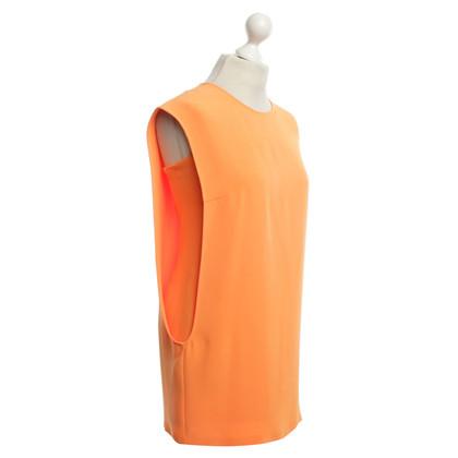 Jil Sander Abito in seta in arancione