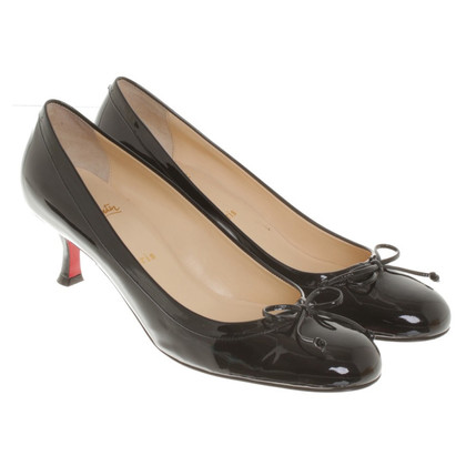 Christian Louboutin Patent leather pumps in black