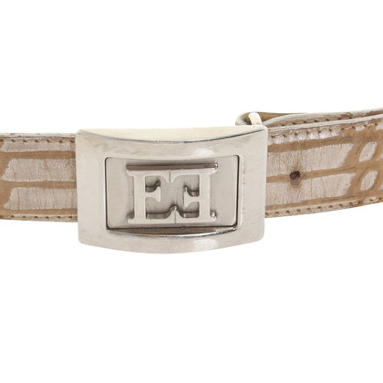 Escada Belt in reptile optics
