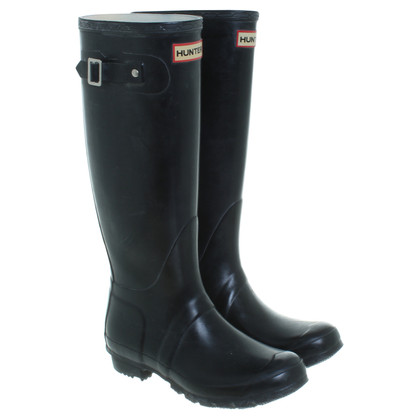 Hunter Rubber boots in black